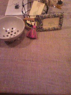 浜松手芸部さんのテーブル