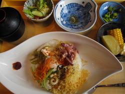 小樽食堂のランチ