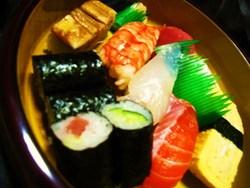 まさ成さんのお寿司