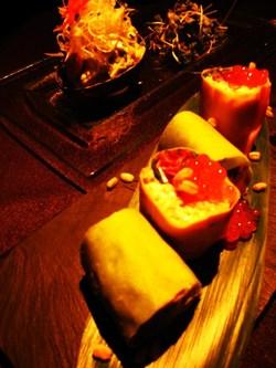 浜松のワインバーとダイニングの食事