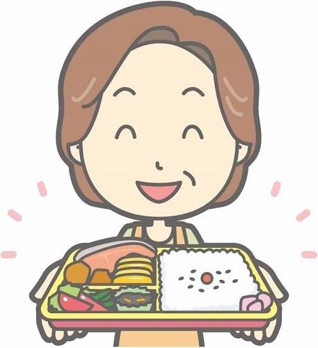 美味しい料理で体と心の健康維持をする母