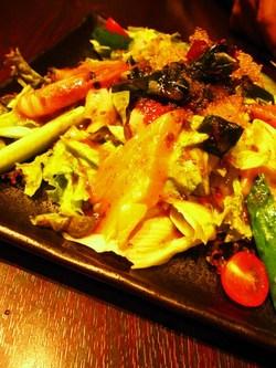 小樽食堂のサラダ